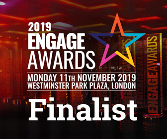 Engage Awards Finalist logo