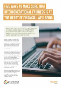 Five ways to make sure that intergenerational fairness is at the heart of financial wellbeing_Page_1