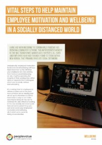Vital steps to help maintain employee motivation and wellbeing in a socially distanced world_Page_1